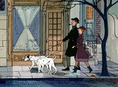 It just dawned on me how classy the couple from 101 Dalmatians was...