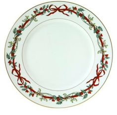 Royal Worcester Holly Ribbons 10-Inch Dinner Plate by Royal Worcester. $44.99. Amazon.com                Made in England since 1751, Royal Worcester has created tableware collections for every occasion. Crafted from fine bone china, Holly Ribbons celebrates the elegance of the holiday season with an understated pattern that coordinates with a wide variety of Christmas decorations. Based upon a Victorian design, a solid white background showcases a thin red ribbon inter...