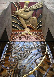 Lee Lawrie. Rockefeller Center. NYC.