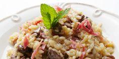 Timbale de jambon au riz et aux champignons