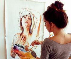 ... | Watercolor Art