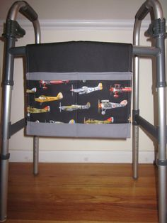 Vintage Airplanes Walker Bag & It Looks and Feels Quilted