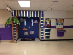 Book Fair Door Idea- Egyptian Theme