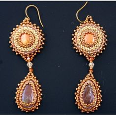 Stylish barroque earrings - Antique Goodies