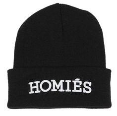 e88d901ccb5 Homies Paris South Central Beanie Hat Snapback Black  Amazon.co.uk  Clothing