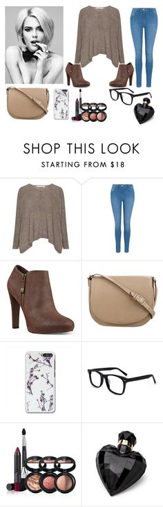 """""""Cozy Sweaters I/IX"""" by oliviaboston ❤ liked on Polyvore featuring George, Nine West, CÉLINE, Laura Geller and Lipsy"""