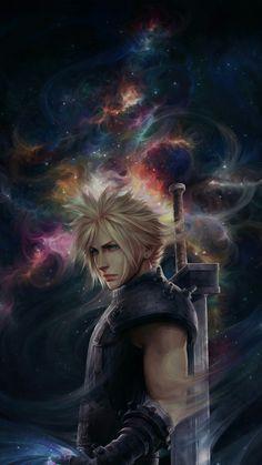 Final Fantasy Cloud, Final Fantasy Artwork, Final Fantasy Characters, Final Fantasy Vii Remake, Fantasy Series, Fantasy World, Cloud And Tifa, Cloud Strife, Game Concept Art