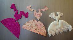 Rokokó ruhás hűtőmágnes: dekorgumi, papír, textil. Készen és csináld magad csomagban is kaphatóak.