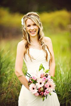 Amazing warm bridal portrait