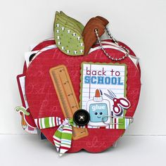 Maya Road Apple Coaster Album with Imaginisce Geek is Chic collection.