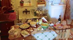 Ash Tree Cottage: Fabulous Dollhouse Tablescapes