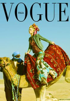 Parties Illustration Description Posing on a Camel in the Desert – Read More – Fashion Cover, Fashion Shoot, Editorial Fashion, Desert Fashion, Tribal Fashion, High Fashion, Marrakech, 2014 Fashion Trends, America's Next Top Model
