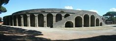 Pompeii,  Amphitheater where PBS special to be taped.