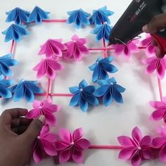Origami is a great effort to make use of your free time or even produce important gifts of spiritual value. Diy Crafts Hacks, Diy Crafts For Gifts, Diy Home Crafts, Diy Arts And Crafts, Creative Crafts, Handmade Crafts, Decor Crafts, Cool Paper Crafts, Paper Flowers Craft