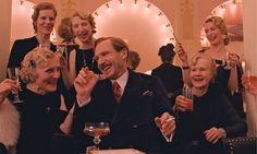 """Ralph Fiennes as M Gustave, the hero? of """"Grand Budapest Hotel""""."""