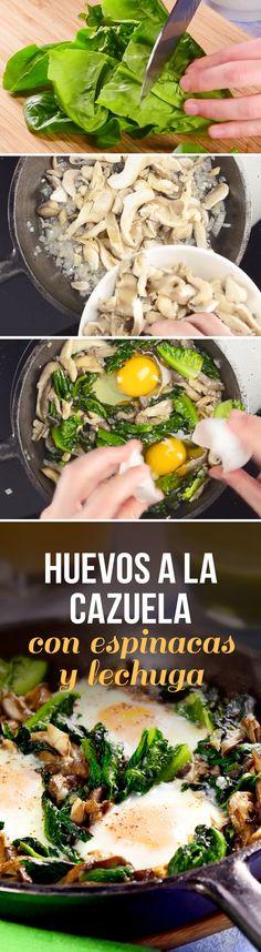 Receta del Día 5 del #RetoPaleo: huevos horneados a la cazuela con espárragos