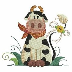 Country Farm Friends Set, 8 Designs - 4x4 | Hearts | Machine Embroidery Designs | SWAKembroidery.com