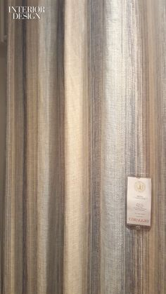 Coraggio's Siena sheer linen-polyester blend in Mare. Calacatta Marble, Material Science, New York Studio, Siena, Window Treatments, Curtains, Texture, Ornaments, Interior Design
