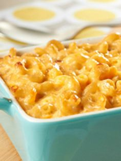 Easy Homemade Macaroni & Cheese -- This cheesy recipe is made extra-special with red pepper and Velveeta. Plus, it's ready for the oven after just 20 minutes of prep.