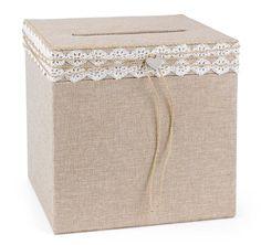 Rustic Romance Card Box