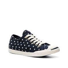 97dd8107b8263c Be the woman of the club in Converse® Jack Purcell® polka dot sneakers!