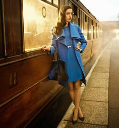 This is my kinda outfit!!! Thomas the Train Blue... So want it in my closet <3. Ted Baker : Take the Scenic Route.