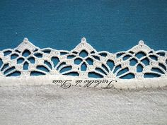 Image result for crochet lace edging pattern