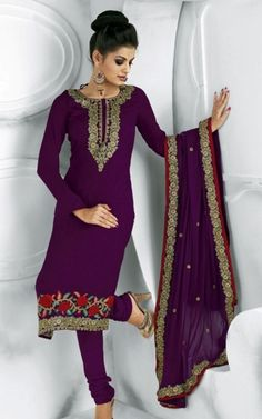 Indian Suit- love the purple