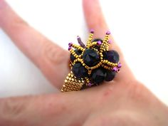 b.e.r.r.y.   ring by RattleTattleAround on Etsy, $35.00 Berries, Gemstone Rings, Dreams, Gemstones, Trending Outfits, Unique Jewelry, Handmade Gifts, Etsy, Vintage