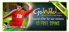 10 Free Spins at GoWild!