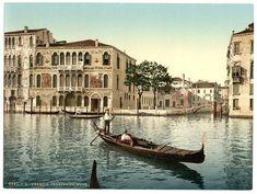 Venise de 1890 en couleur