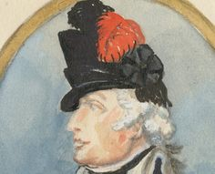American officer, c. 1785 London: 1785 Wood, William (artist) Detail
