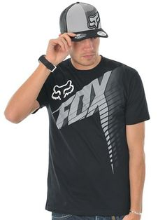 Fox Black Horizon T-Shirt | Fox | FreestyleXtreme