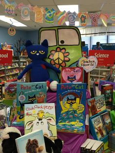 Pete feelin' groovy at the Book fair Book Fairs, Fair Theme, Feelin Groovy, Homecoming Week, Spring Books, Books 2016, Book Study, Library Displays, Book Show