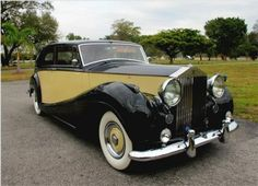 1956 Rolls-Royce Silver Wraith....so elegant for a large motorcar.