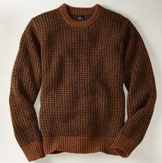 Rugged Sweaters to Wear All Year-- L.L. Bean Shetland wool sweater