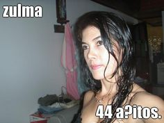zulma 44 añitos. (courtesy of @Pinstamatic http://pinstamatic.com)