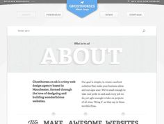 21 Inspiring Examples of About Pages   Inspiration