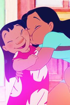 Disney 30 Day Challenge, Favorite non-romantic duo: Nani and Lilo from Lilo and Stitch (2002) They remind me of my own relationship with my sisers, except we don't yell at each other that much. :)