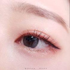 Kawaii Makeup, Cute Makeup, Makeup Looks, Korean Makeup Look, Asian Eye Makeup, Doll Eye Makeup, Kiss Makeup, Beauty Makeup, Makeup Inspo