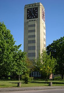 Wittenberge, Uhrenturm