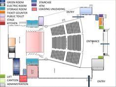 Resultado de imagen para theatre seating dimensions