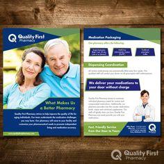 Flyer Needed for Pharmacy Marketing by ipekdeniz