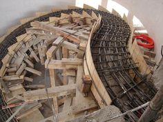Construccion escalera helicoidal