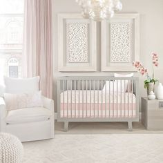 Our new Capri collection has arrived and is ready to ship.  PS. This is available for  @stokkebaby oval crib lovers as well.