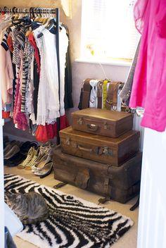 MadeByGirl: Gemma's Vintage Wardrobe...(Via Made By Girl)