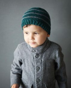 Toddler Boy Knit Hat Pattern | AllFreeKnitting.com