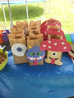 Pinata Skylander Giants Birthday Party Bags