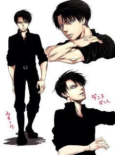 Levi Ackerman - Attack on Titan - Shingeki no Kyojin