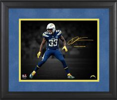 Derwin James Los Angeles Chargers Framed 11